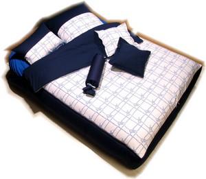 b1 travelbett set borkum blauwei damian de b ck e k. Black Bedroom Furniture Sets. Home Design Ideas